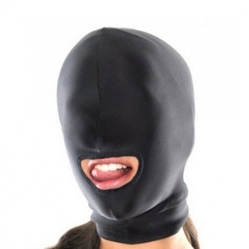 BDSM маска Black Devil