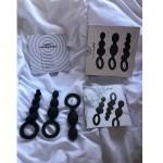 Комплект от 3 бр анални разширители Black Satisfyer Plugs