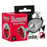 Бът плъг Сърце Diamond Butt Plug Medium