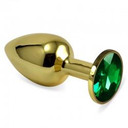 Метален анален разширител Gold RoseBud S