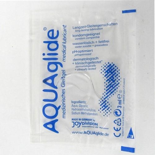 Еднократна доза Лубрикант AquaGlide саше 3 мл