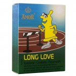 Задържащи презервативи Amor Long Love 3 бр