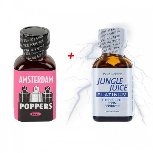 Попърс Амстердам  25 мл + Попърс Jungle Juice 25 мл