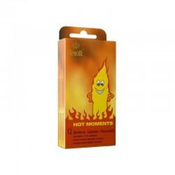Затоплящи презервативи Amor Hot Moments 12 бр