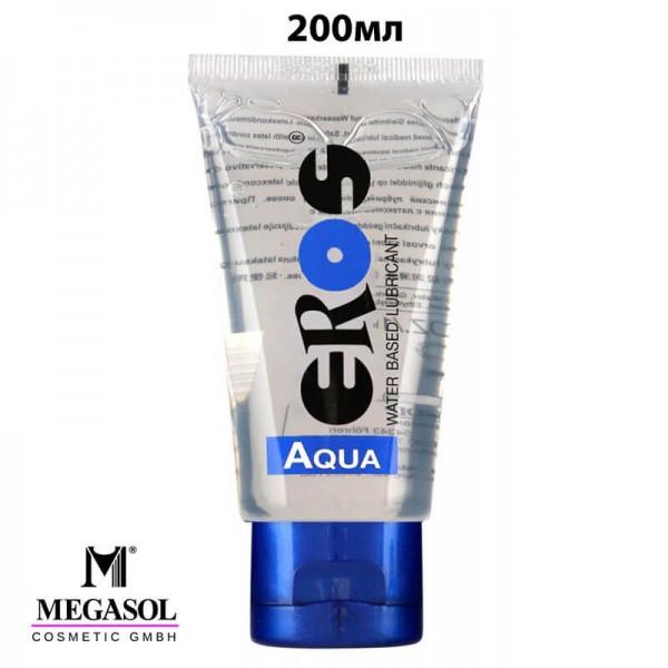200 мл Лубрикант на водна основа Eros Aqua