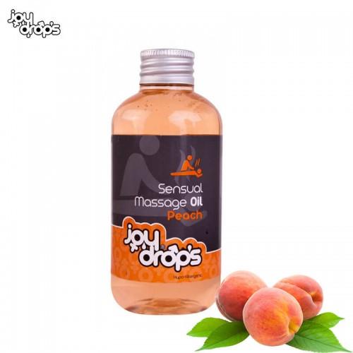 Масажно масло Праскова JoyDrops 250 мл