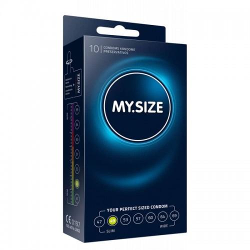 10 бр Презервативи MySize 49