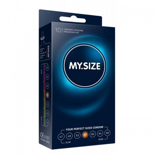 10 бр Презервативи MySize 57