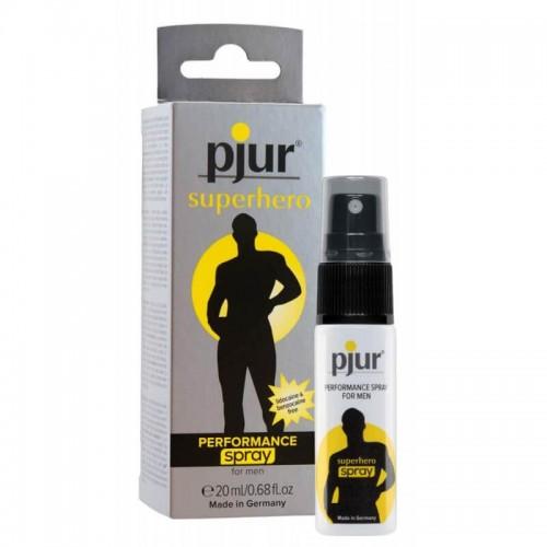 Спрей за задържане Superhero Strong delay spray 20 ml by Pjur