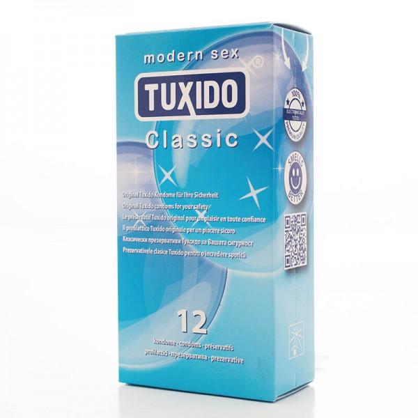 Кутия 12 броя презервативи Classic Tuxido