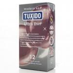 Кутия 12 броя ултра тънки презервативи Ultra Thin Tuxido