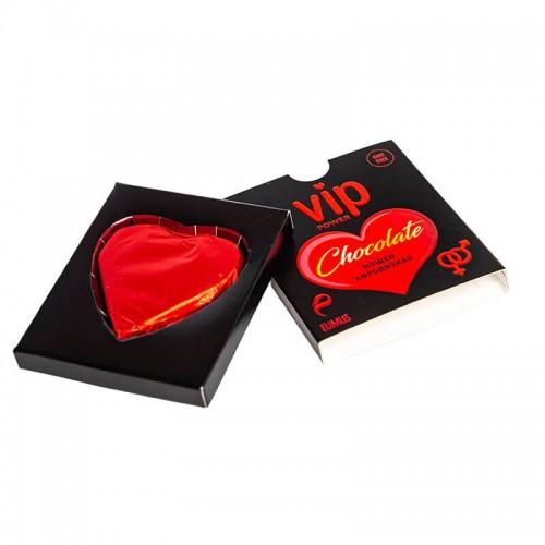 Възбуждащ шоколад сърце VIP