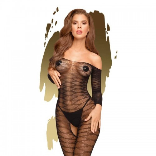 Бельо за секс Dreamy Diva Bodystocking with open crotch by Penthouse