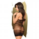 Секси рокля High-neck mini dress Epic night S-L черна by Penthouse