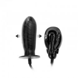 Вибриращ надуваем пенис с електрическа помпа Bigger Joy