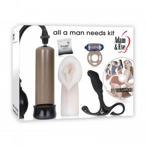 Секс комплект за мъже All A Man Needs Kit