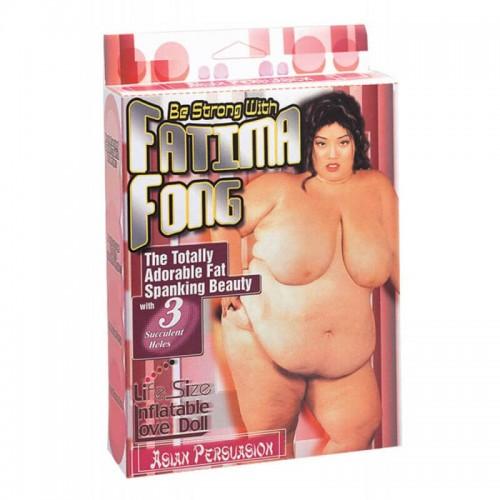 Надуваема секси дебелана Be Strong With Fatima Fong
