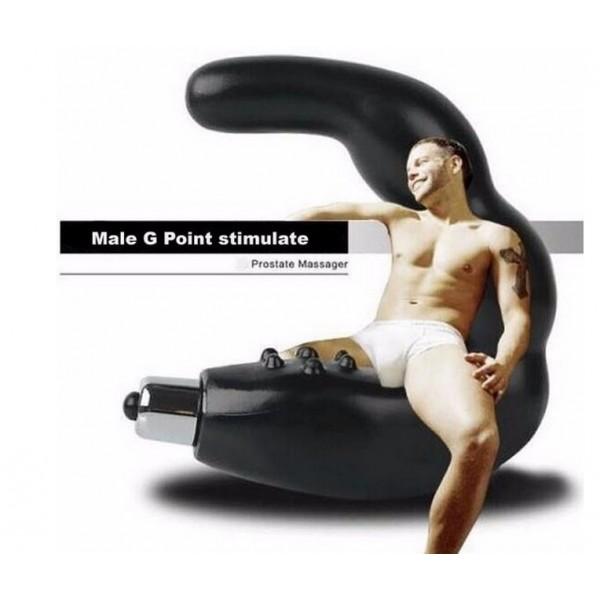 Вибратор за масаж на простатата Черният рицар